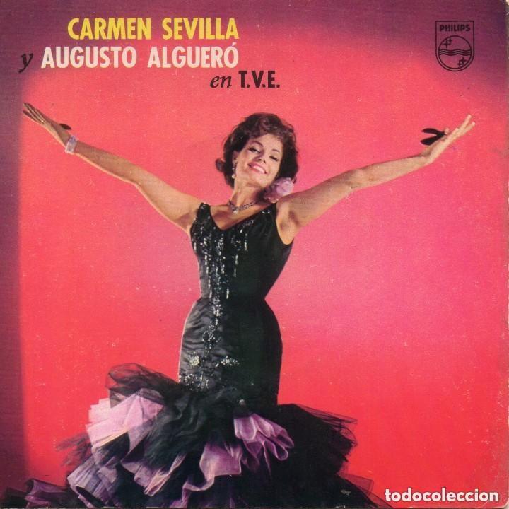 CARMEN SEVILLA Y AUGUSTO ALGUERÓ EN T.V.E., NAVIDADES PHILIPS 1962 (Música - Discos de Vinilo - EPs - Solistas Españoles de los 50 y 60)