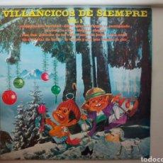 Discos de vinilo: LP VILLANCICOS DE SIEMPRE. 1976.. Lote 108052583