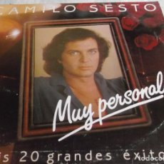 Discos de vinilo: CAMILO SESTO-MUY PERSONAL DOBLE LP. Lote 108052623