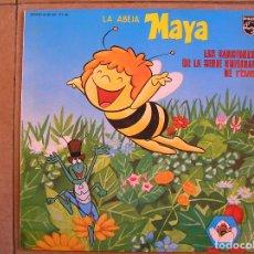 Discos de vinilo: LA ABEJA MAYA (LAS CANCIONES DE LA SERIE ORIGINAL DE RTVE) - PHILIPS 1977 - LP - P. Lote 108053387