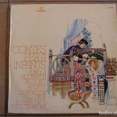 Discos de vinilo: CONTES PER A INFANTS - LA BELLA ADORMIDA DEL BOSC - COLUMBIA 1971 - LP - P. Lote 108054355