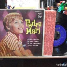 Discos de vinilo: PEDRO MARI EL NIÑO TRAVIESO + 3 EP SPAIN 1963 PDELUXE. Lote 108055871