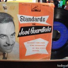 Discos de vinilo: JOSE GUARDIOLA 16 TONELADAS / GEORGIA + 2 EP SPAIN 1962 PDELUXE. Lote 108056103