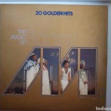 Discos de vinilo - LP 20 GOLDENHITS THE MAGIC OF BONEY M. - 108067018