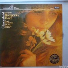 Discos de vinilo: LP CHACKSFIELD INTERPRETA RODGERS & HART. Lote 108068231