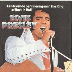 Discos de vinilo: ELVIS PRESLEY SINGLE FLEXI DISC GREATEST HITS INGLATERRA BELGICA-VER MAS FOTOS. Lote 108069587