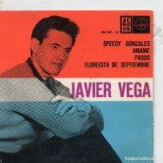 Discos de vinilo: JAVIER VEGA - EP 1962 - SPEEDY GONZALES + 3. Lote 108070131