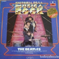 Discos de vinilo: HISTORIA DE LA MUSICA ROCK-THE BEATLES – NUMERO 6 – LP VINILO. Lote 108075407