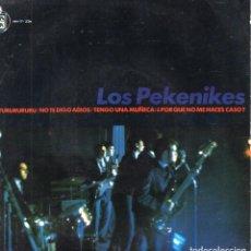 Discos de vinilo: LOS PEKENIKES, EP, EL TURURURURU + 3, AÑO 1965. Lote 108083103