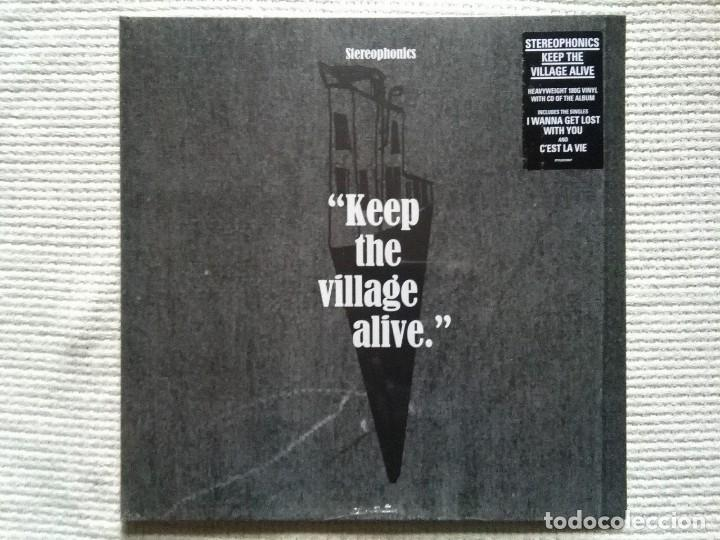 STEREOPHONICS - '' KEEP THE VILLAGE ALIVE '' LP 180 GR. + CD UK 2015 SEALED (Música - Discos - LP Vinilo - Pop - Rock Extranjero de los 90 a la actualidad)