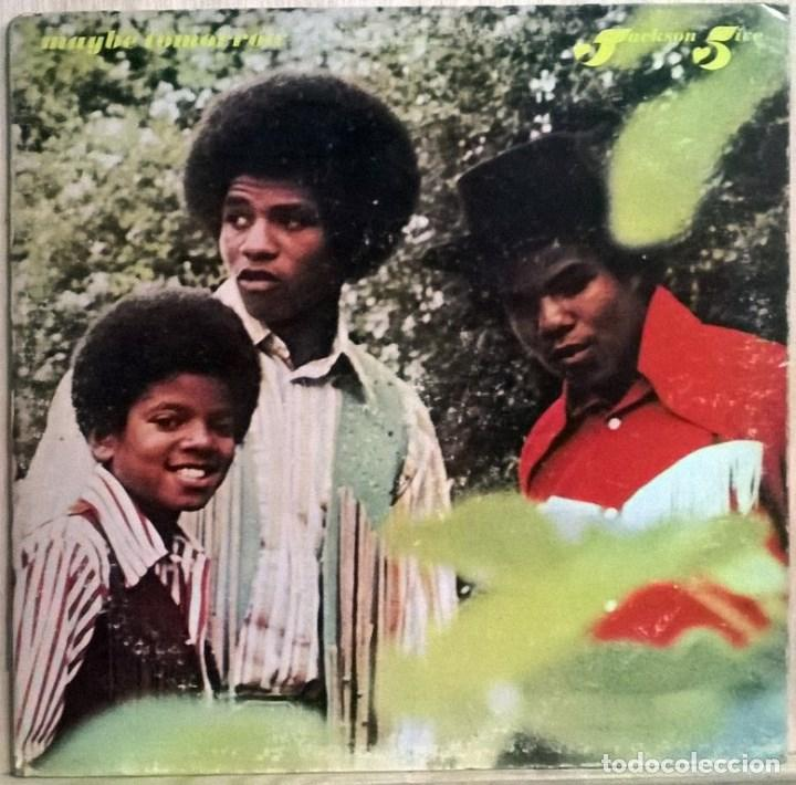 THE JACKSON FIVE 5. MAYBE TOMORROW. MOTOWN. USA 1971 LP + DOBLE CARPETA (Música - Discos - LP Vinilo - Funk, Soul y Black Music)