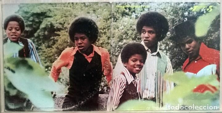 Discos de vinilo: The Jackson Five 5. Maybe tomorrow. Motown. USA 1971 LP + doble carpeta - Foto 2 - 108095315
