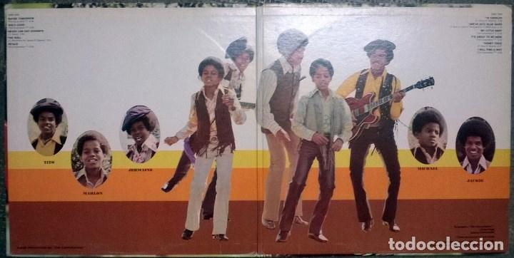 Discos de vinilo: The Jackson Five 5. Maybe tomorrow. Motown. USA 1971 LP + doble carpeta - Foto 3 - 108095315