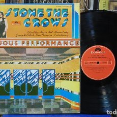 Discos de vinilo: STONE THE CROWS. ONTINUOUS PERFORMANCE. POLYDOR 1977, REF. 23 91 043. LP. Lote 108097739