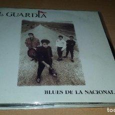 Disques de vinyle: SINGLE LA GUARDIA. BLUES DE LA NACIONAL II. ZAFIRO 1988. Lote 108100411