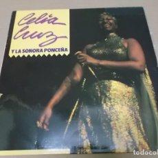 Discos de vinilo: CELIA CRUZ Y LA SONORA PONCEÑA (LP) MANZANA RECORD AÑO 1990. Lote 243913475