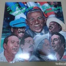 Discos de vinilo: SAR ALL STARS (LP) INTERPRETAN A RAFAEL HERNANDEZ AÑO 1981. Lote 243913565