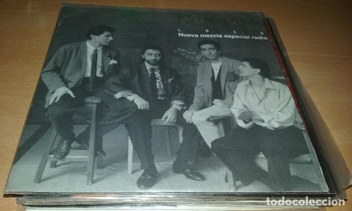 SINGLE PROMO KETAMA. LOKO. PHILIPS 1990 (Música - Discos - Singles Vinilo - Grupos Españoles de los 70 y 80)