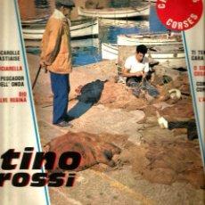 Discos de vinilo: LP 10 PULGADAS : TINO ROSI : CHANSONS CORSES . Lote 108125739