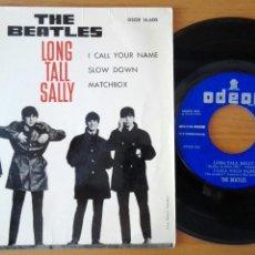Discos de vinilo: BEATLES EP LONG TALL SALLY ED. ESPAÑOLA. Lote 108127447