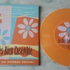 Discos de vinilo: LES TRES BIEN ENSEMBLE: JE VEUX ETRE UN SYMBOL SEXUEL + 3 (ELEFANT 1999). Lote 108192999