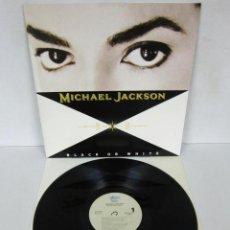 Discos de vinilo: MICHAEL JACKSON - BLACK OR WHITE - MAXI 4 TEMAS - EPIC 1991 SPAIN. Lote 108212103