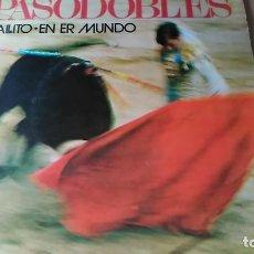 Discos de vinilo: JOSE AGUIRA Y SU ORQUESTA - GALLITO + EN ER MUNDO (A ESTRENO). Lote 108235627