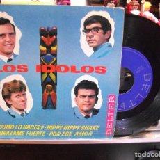 Discos de vinilo: LOS IDOLOS COMO LO HACES + 3 EP SPAIN 1964 PEPETO TOP. Lote 108235827