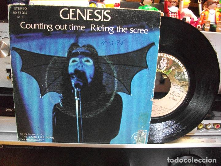 GENESIS COUNTING OUT TIME + 1 SINGLE SPAIN 1974 PEPETO TOP (Música - Discos - Singles Vinilo - Pop - Rock - Extranjero de los 70)