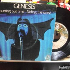 Discos de vinilo: GENESIS COUNTING OUT TIME + 1 SINGLE SPAIN 1974 PEPETO TOP . Lote 108236171