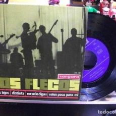 Discos de vinilo: LOS FLECOS DISTINTA/ ESTAS LEJOS + 2 EP SPAIN 1965 PEPETO TOP . Lote 108236311