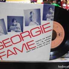 Discos de vinilo: GEORGIE FAME KNOCK ON WOOD + 3 1967 EP PORTUGAL PEPETO TOP . Lote 108236595