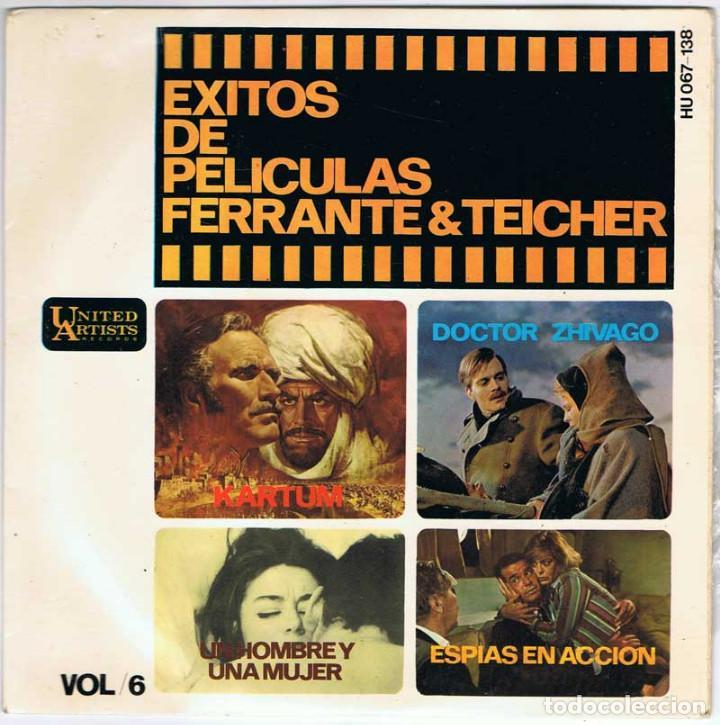 FERRANTE Y TEICHER - EXITOS DE PELÍCULAS VOL. 6 (Música - Discos de Vinilo - EPs - Bandas Sonoras y Actores)