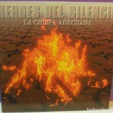 Dischi in vinile: HÉROES DEL SILENCIO - LA CHISPA ADECUADA - SG 7' / 2007. Lote 108237315