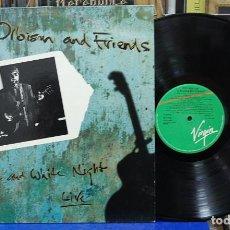Discos de vinilo: ROY ORBISON AND FRIEND. ABLACK WHITE NIGHT, LIVE. VIRGIN RECORDS 1989, REF. 210 145. LP. Lote 108237803