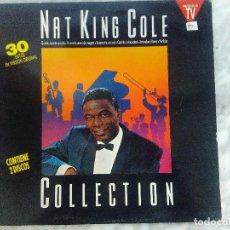 Discos de vinilo: NAT KING COLE COLLECTION , CONTIENE DOS DISCOS. Lote 108240623