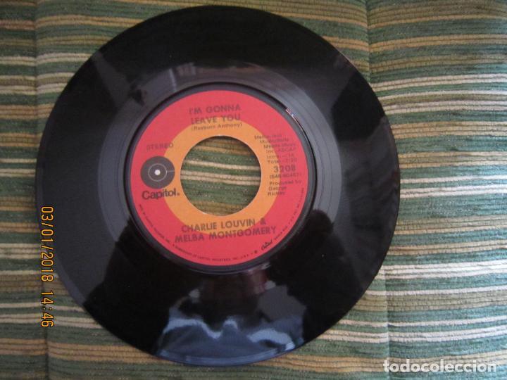 Discos de vinilo: CHARLIE LOUVIN & MELBA MONTGOMERY - WHEN I STOP DREAMING SINGLE U.S.A. -CAPITOL 1971 - STEREO - - Foto 4 - 108244311
