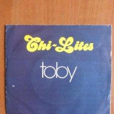 Discos de vinilo: CHI-LITES - TOBY (PROMOCIONAL SPAIN, DISCOS ZAFIRO 1975) - BUEN ESTADO. Lote 108244875