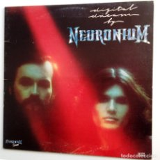 Discos de vinilo: NEURONIUM - DIGITAL DREAM BY NEURONIUM - LP 1ª EDICION 1980- VINILO EXC. ESTADO.. Lote 108254391
