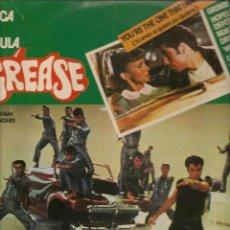 Discos de vinilo: DISCOS LP: GREASE. MÚSICA DE LA PELÍCULA. (ST/C2). Lote 108259783