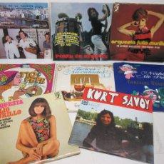 Discos de vinilo: 8 SINGLE VINILO,PROMO,KURT SAVOY,POKER DE RITMOS,ORQUESTAS ANTONIO LATORRE-JULIO MURILLO. Lote 59606152