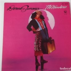 Discos de vinilo: DONNA SUMMER - THE WANDERER. Lote 108274531
