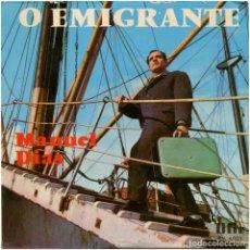 Discos de vinilo: MANUEL DIAS – O EMIGRANTE - EP PROTUGAL - OFIR AM 4.003 - FADO. Lote 108277323