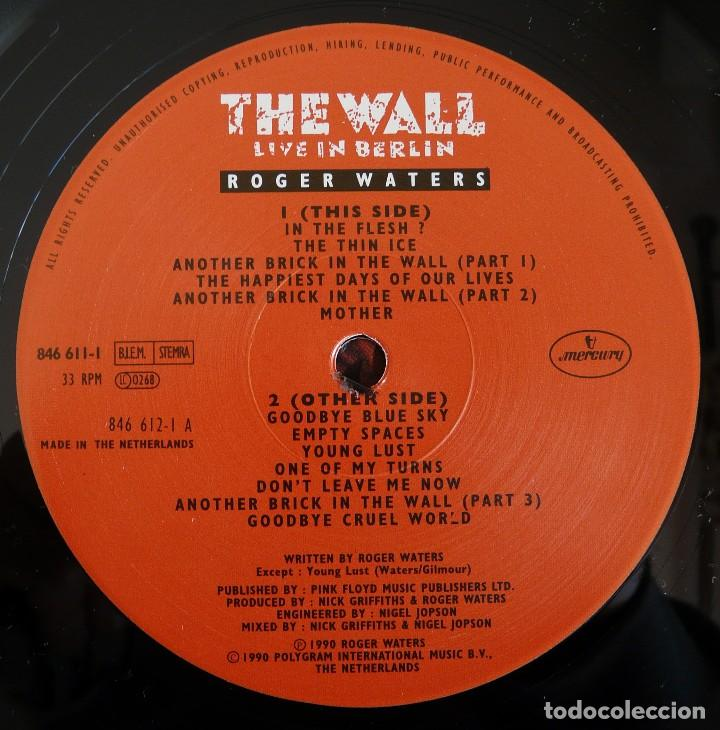 Discos de vinilo: DOBLE LP - ROGER WATERS - THE WALL (LIVE IN BERLIN