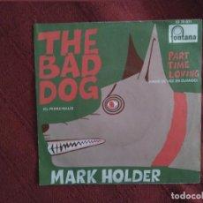 Discos de vinilo: MARK HOLDER THE BAD DOG 1970. Lote 108297091