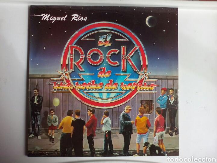 LP MIGUEL RÍOS. EL ROCK DE UNA NOCHE DE VERANO. (Música - Discos - LP Vinilo - Rock & Roll)