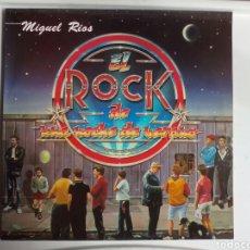 Discos de vinilo: LP MIGUEL RÍOS. EL ROCK DE UNA NOCHE DE VERANO.. Lote 108306392