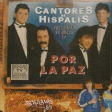 Discos de vinilo: DISCOS LP: CANTORES DE HISPALIS. POR LA PAZ. 2 DISCOS. DOBLE CARPETA. (ST/C2). Lote 108310259