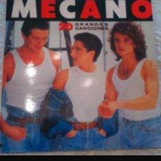 Discos de vinilo: MECANO 20 GRANDES CANCIONES. Lote 108324303