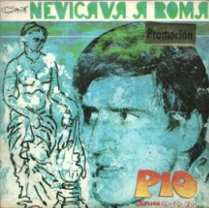 Discos de vinilo: FESTIVAL SANREMO-70 - NEVICAVÀ A ROMA / BRUCEREI - 1970. Lote 108325619